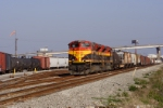 KCS train M-CXSH forms at NOPB's France Yard